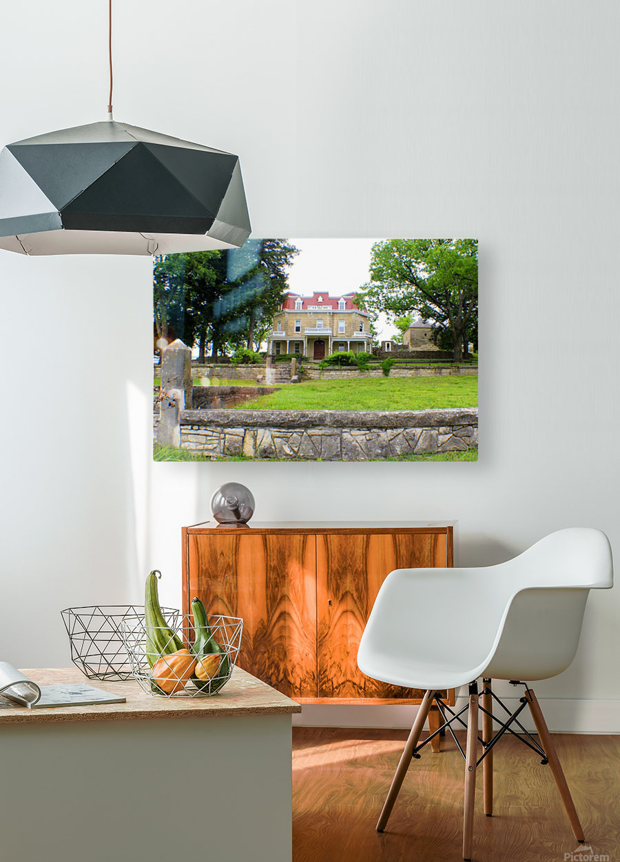 Tall Grass Prairie Reserve  HD Metal print with Floating Frame on Back