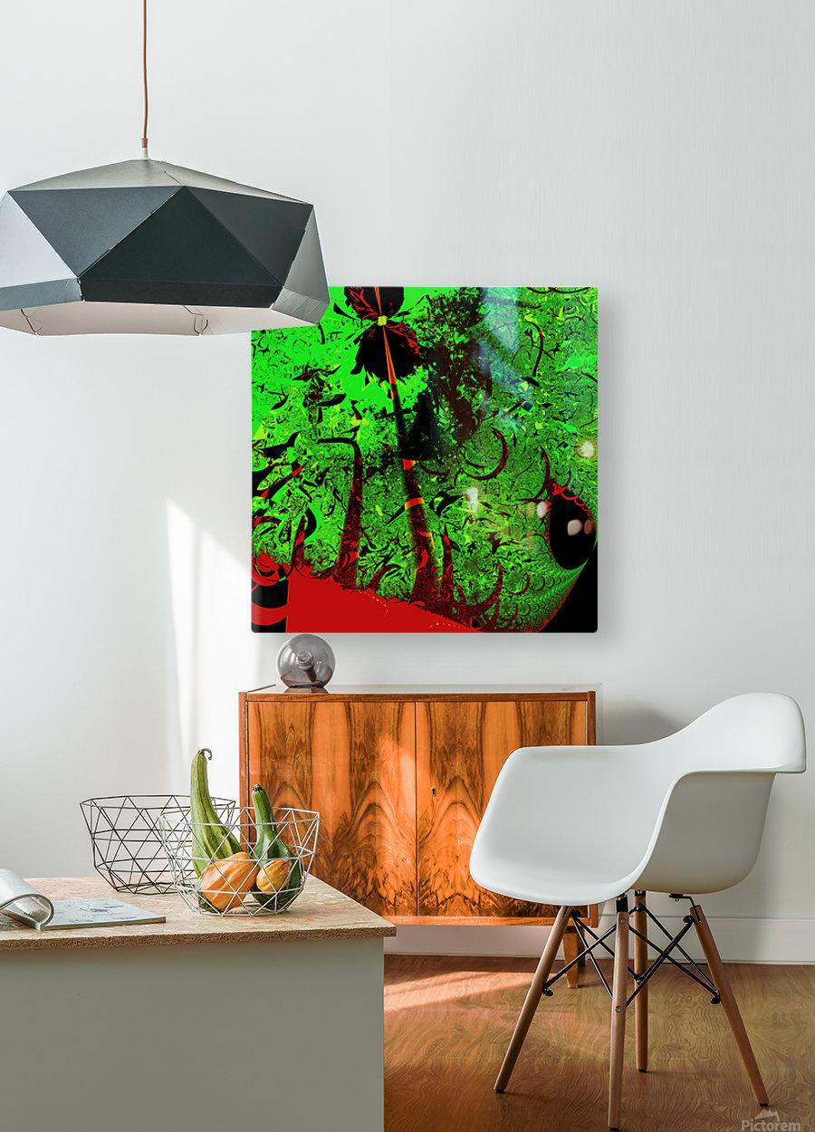 Digital_Tornado_Take_4  HD Metal print with Floating Frame on Back