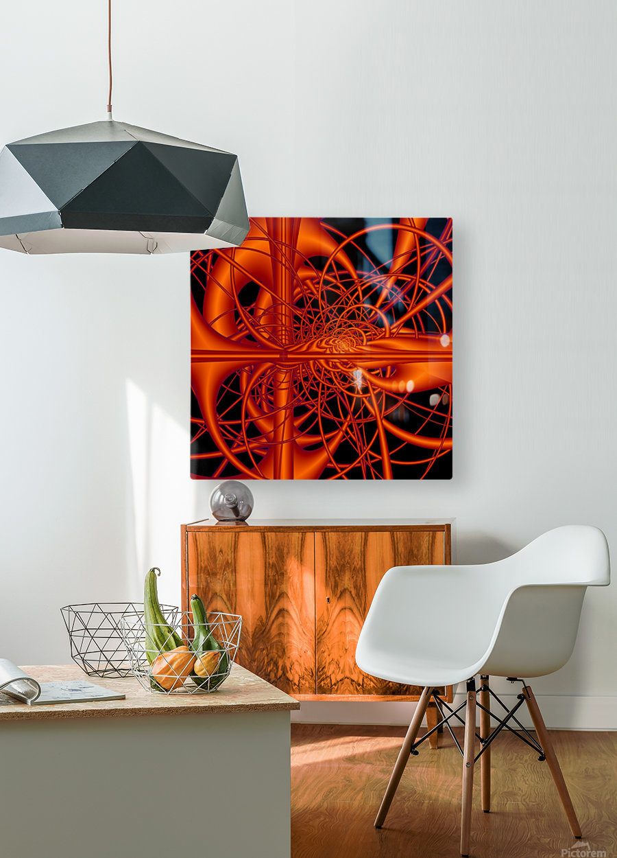 Pipe_Dream  HD Metal print with Floating Frame on Back