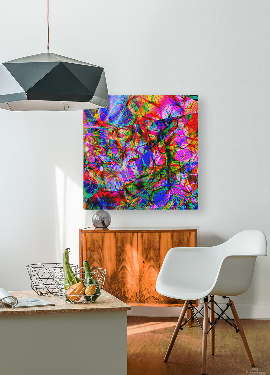 Jazz_Fusion_Series_2  HD Metal print with Floating Frame on Back