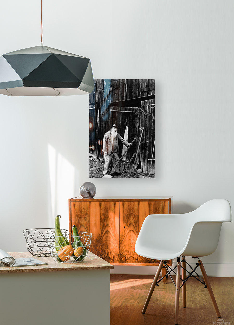 The Old Carriage House  HD Metal print with Floating Frame on Back