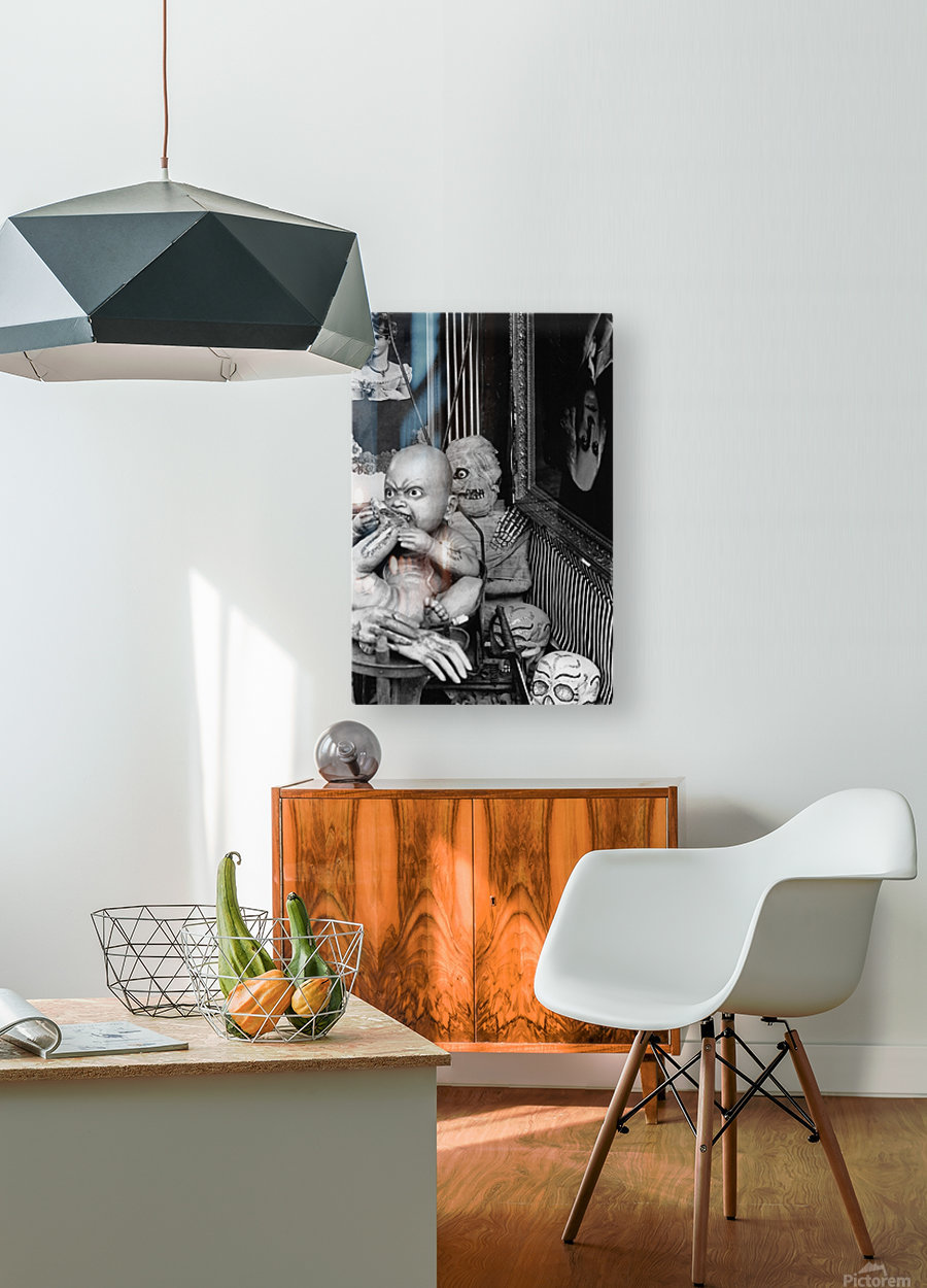 State of the Union  HD Metal print with Floating Frame on Back