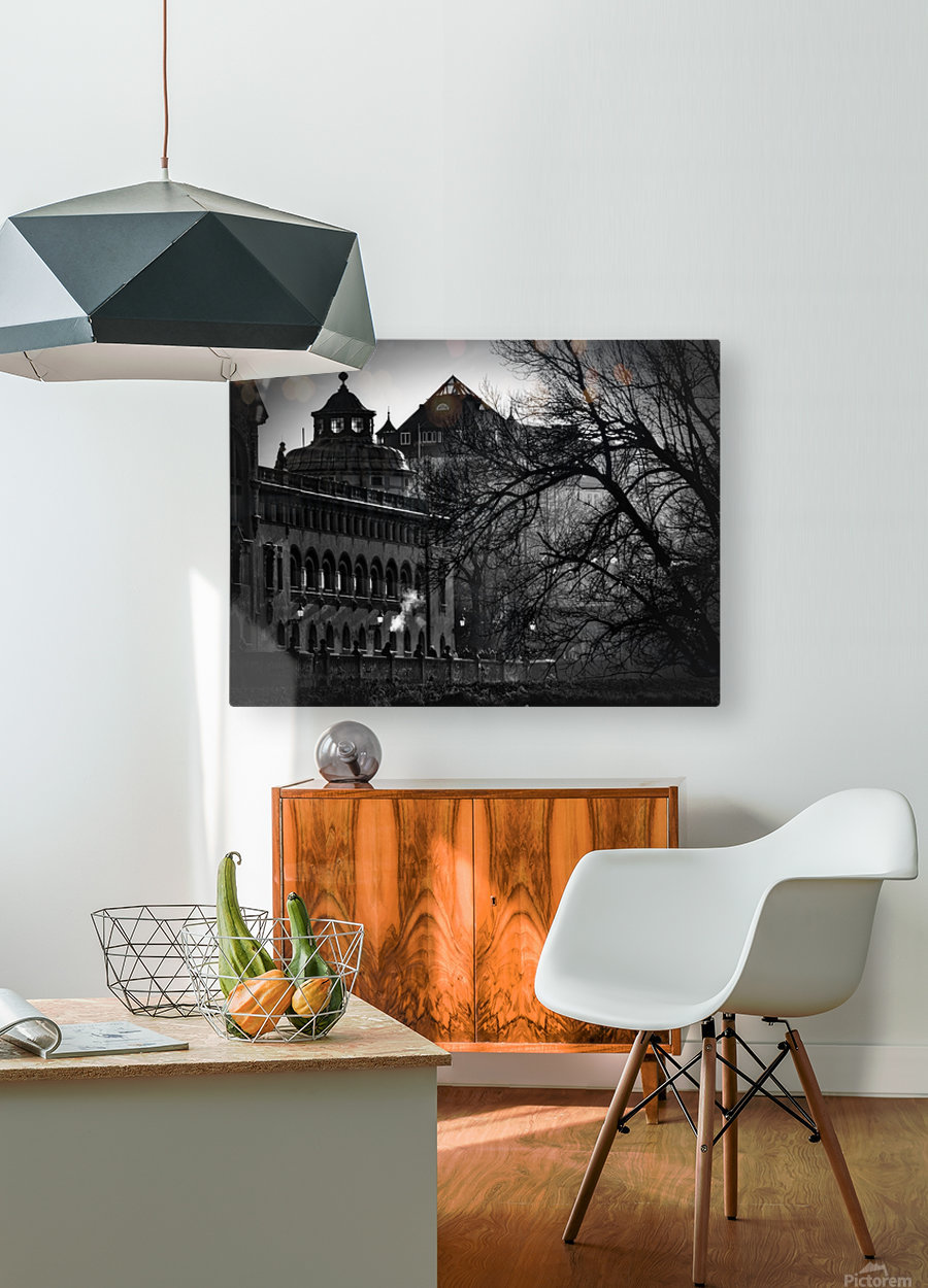 Volksbad  HD Metal print with Floating Frame on Back