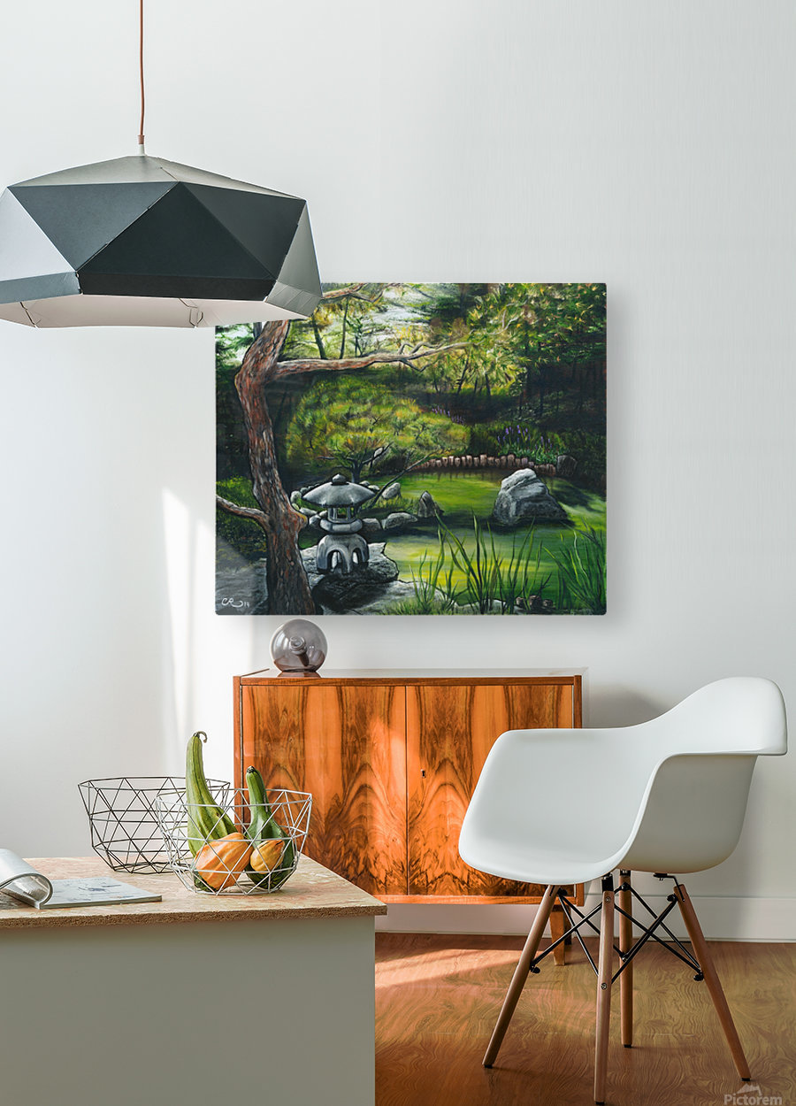 Minnesota Arboretum  HD Metal print with Floating Frame on Back