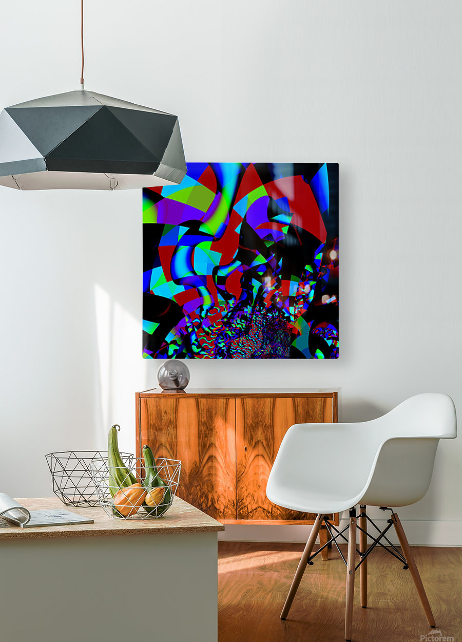 Jazz_Fusion_Series_1  HD Metal print with Floating Frame on Back