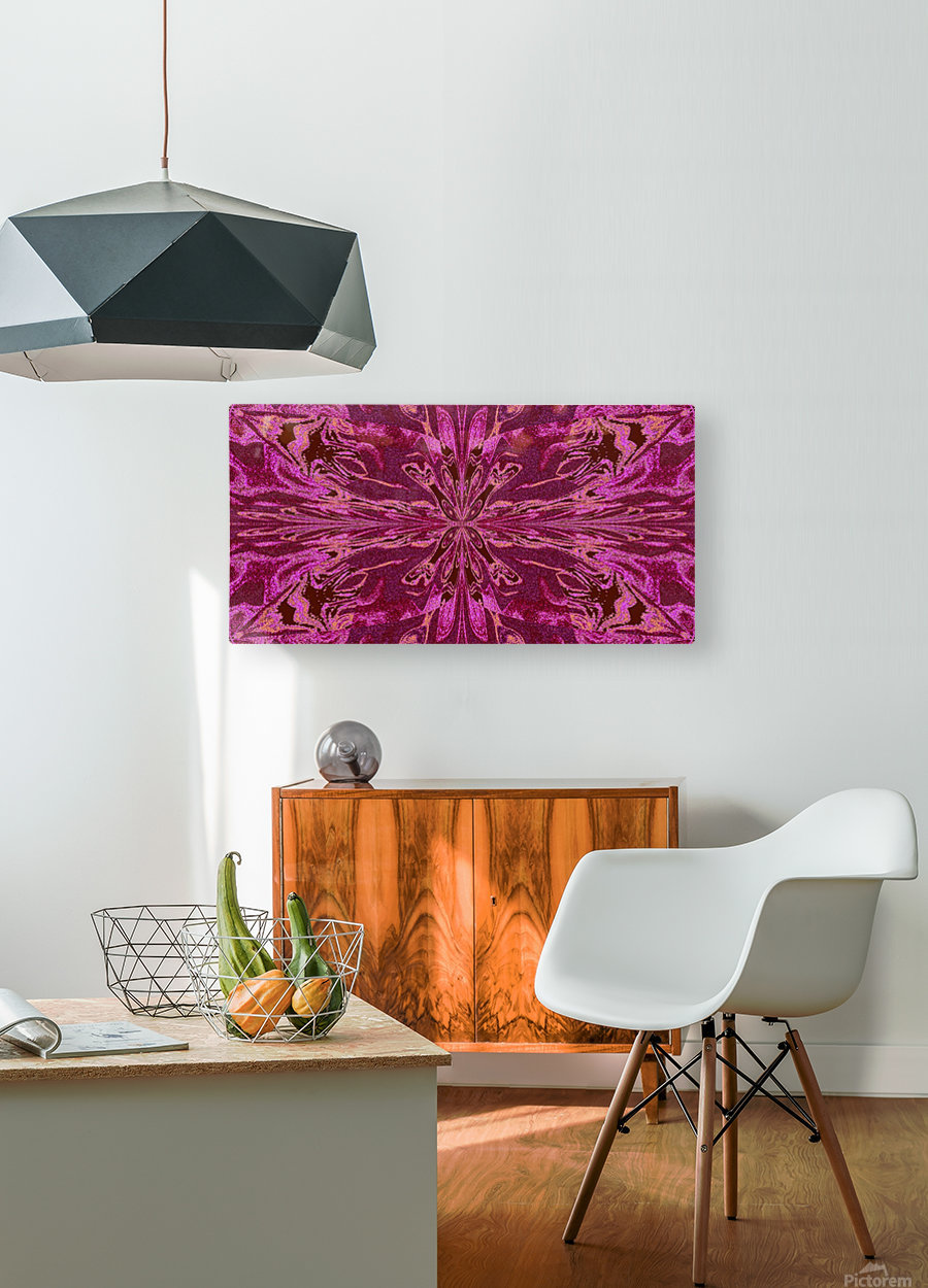 Abstract Butterfly 16  HD Metal print with Floating Frame on Back