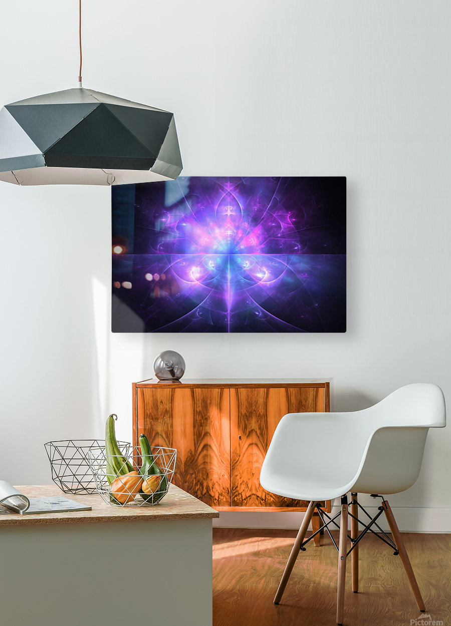 Ace  HD Metal print with Floating Frame on Back