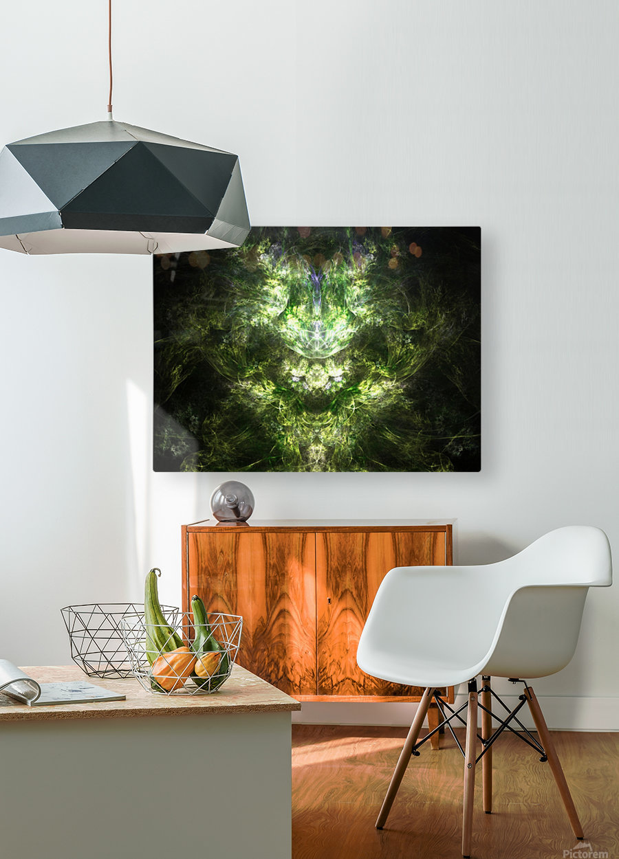 Earth Giant  HD Metal print with Floating Frame on Back