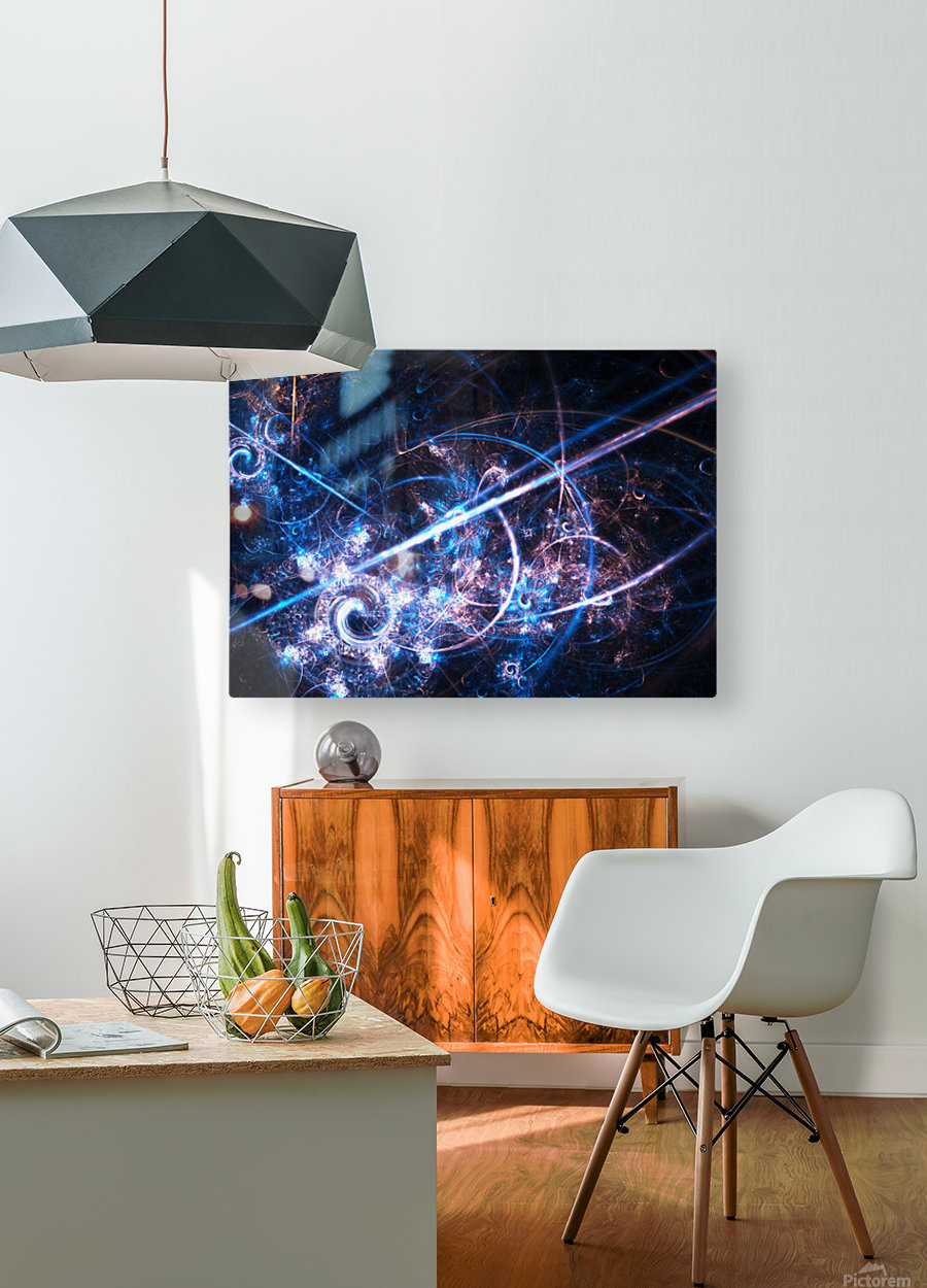 Battle for the Empire e  HD Metal print with Floating Frame on Back