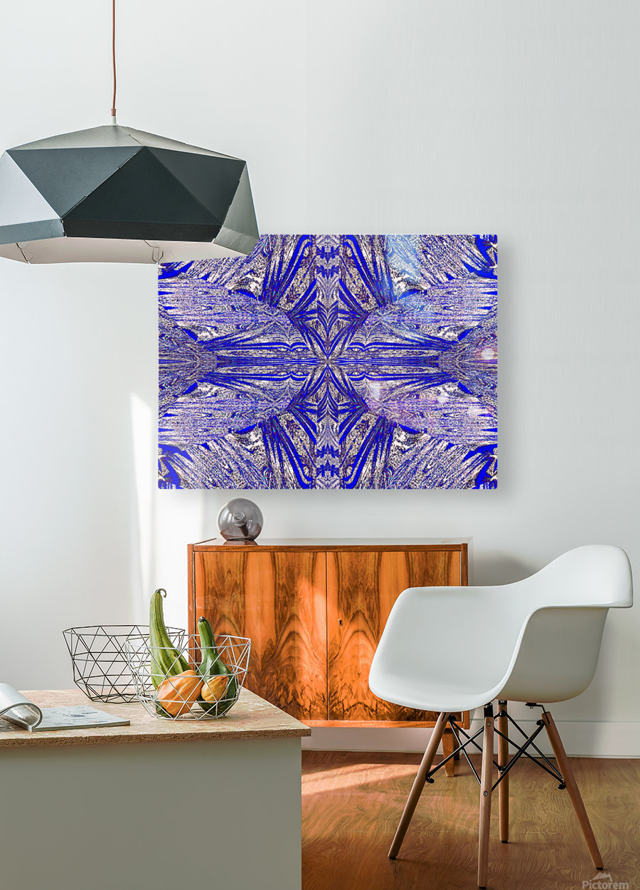 The Butterfly Inside  HD Metal print with Floating Frame on Back