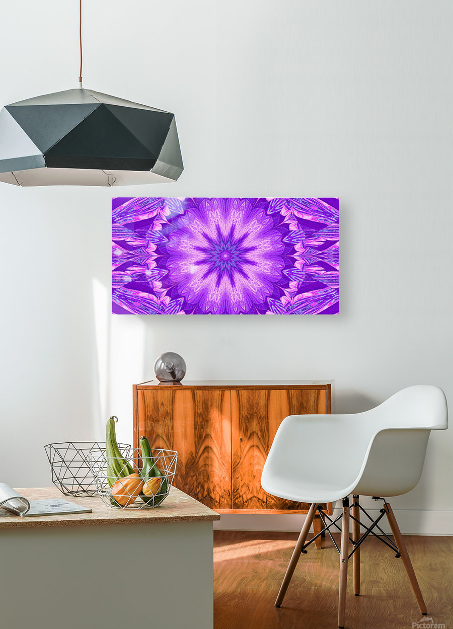 A Summer Pansy 5  HD Metal print with Floating Frame on Back