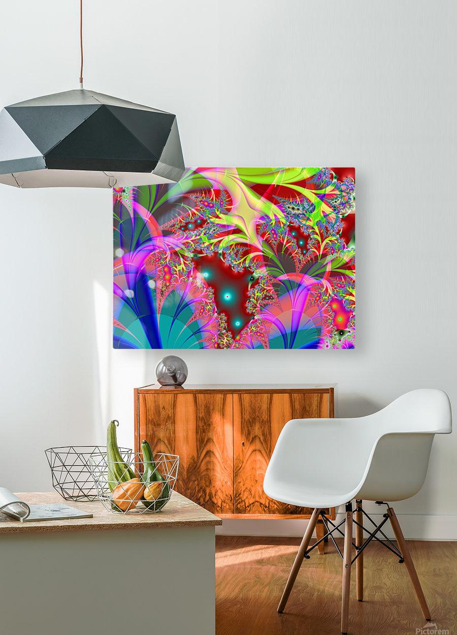 Tangerine_Island_3  HD Metal print with Floating Frame on Back