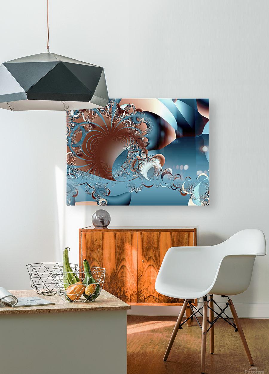 Gargantuan_Hatching  HD Metal print with Floating Frame on Back