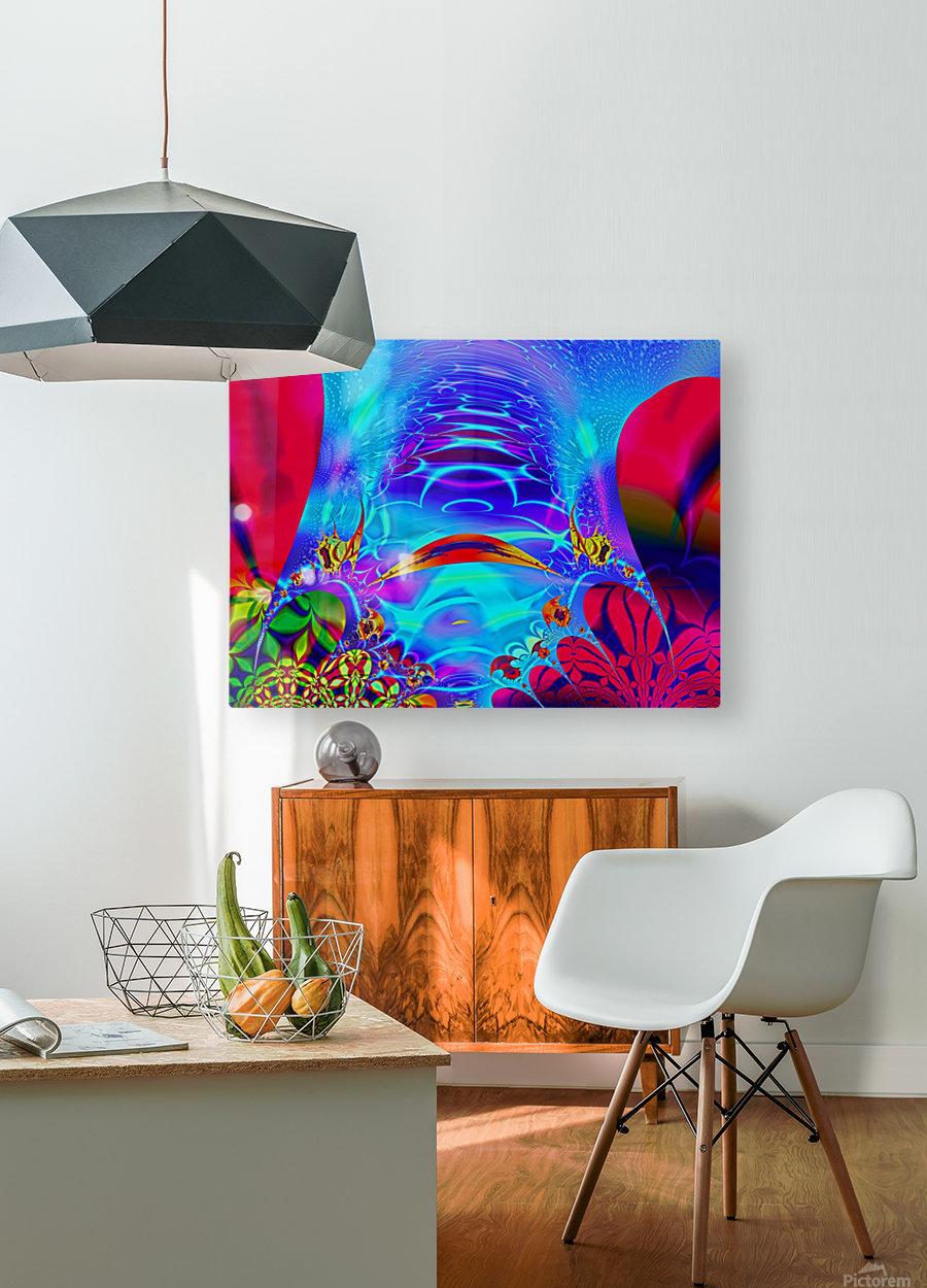 Sea_Bottom_3  HD Metal print with Floating Frame on Back