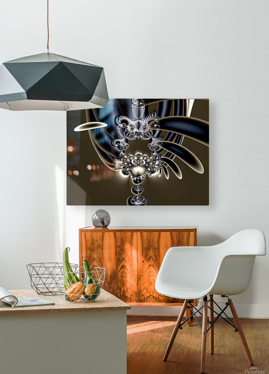 Installation  HD Metal print with Floating Frame on Back