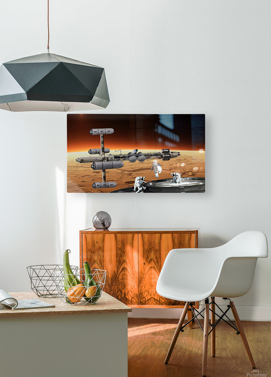 Copernicus at Mars  HD Metal print with Floating Frame on Back
