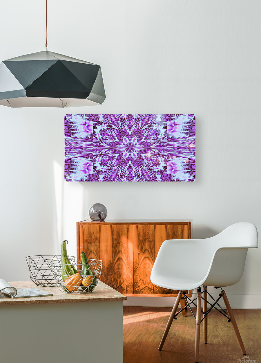 Painted Wildflowers 12  HD Metal print with Floating Frame on Back