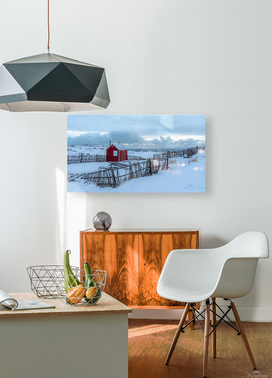 Coastal Beauty  HD Metal print with Floating Frame on Back