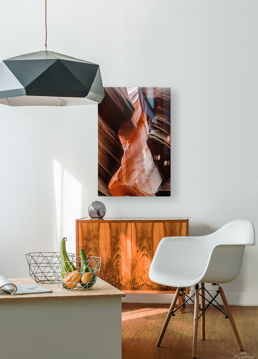 Upper Antelope Canyon 2  HD Metal print with Floating Frame on Back