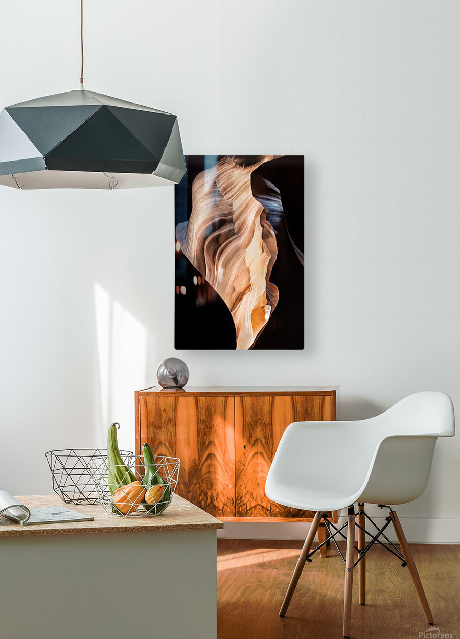 Upper Antelope Canyon 11  HD Metal print with Floating Frame on Back