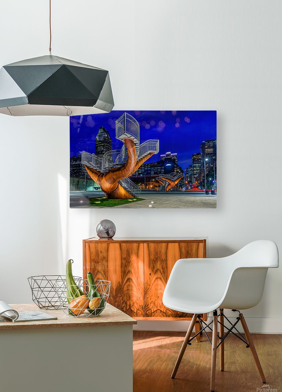 _TEL5194 HDR 1 2  HD Metal print with Floating Frame on Back