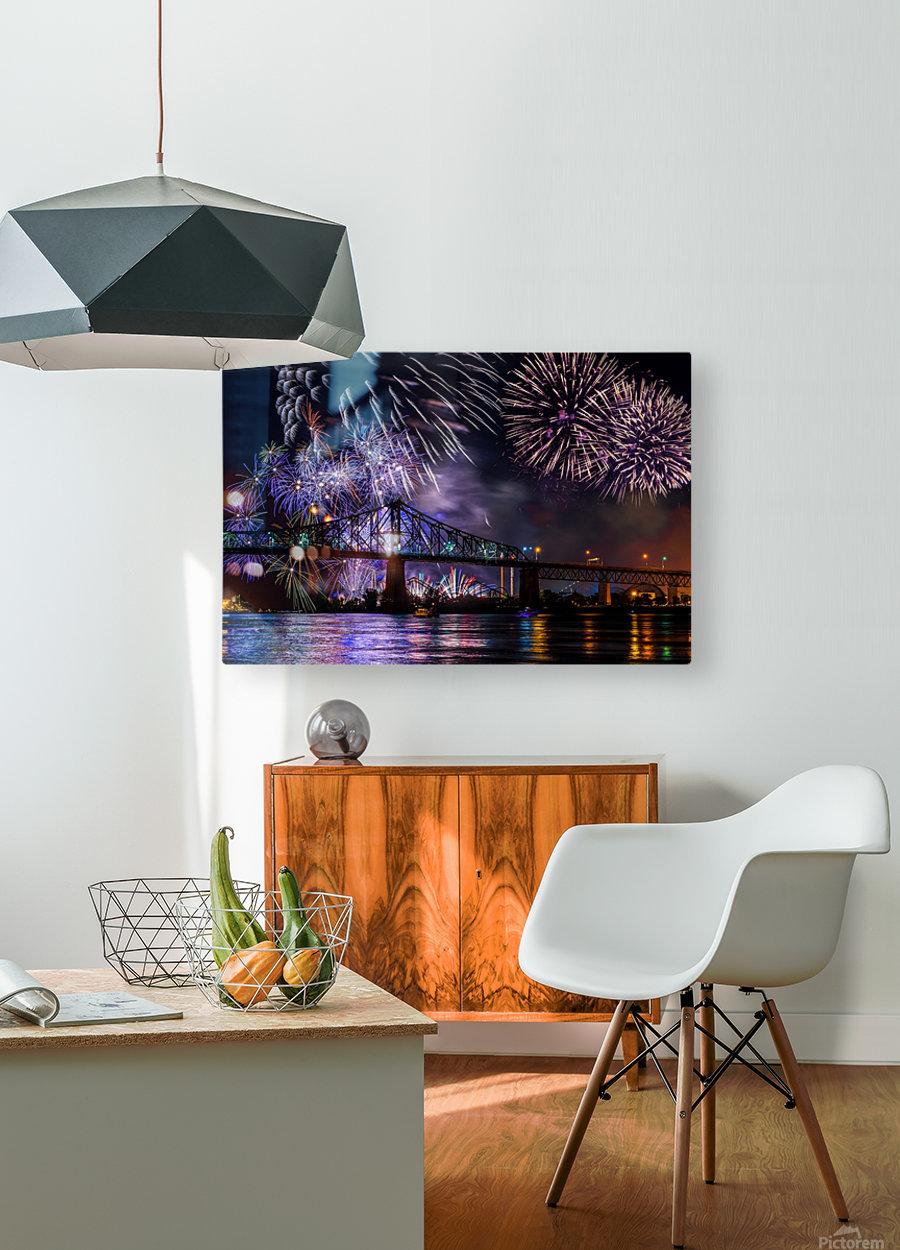 _TEL8724 Edit Edit  HD Metal print with Floating Frame on Back
