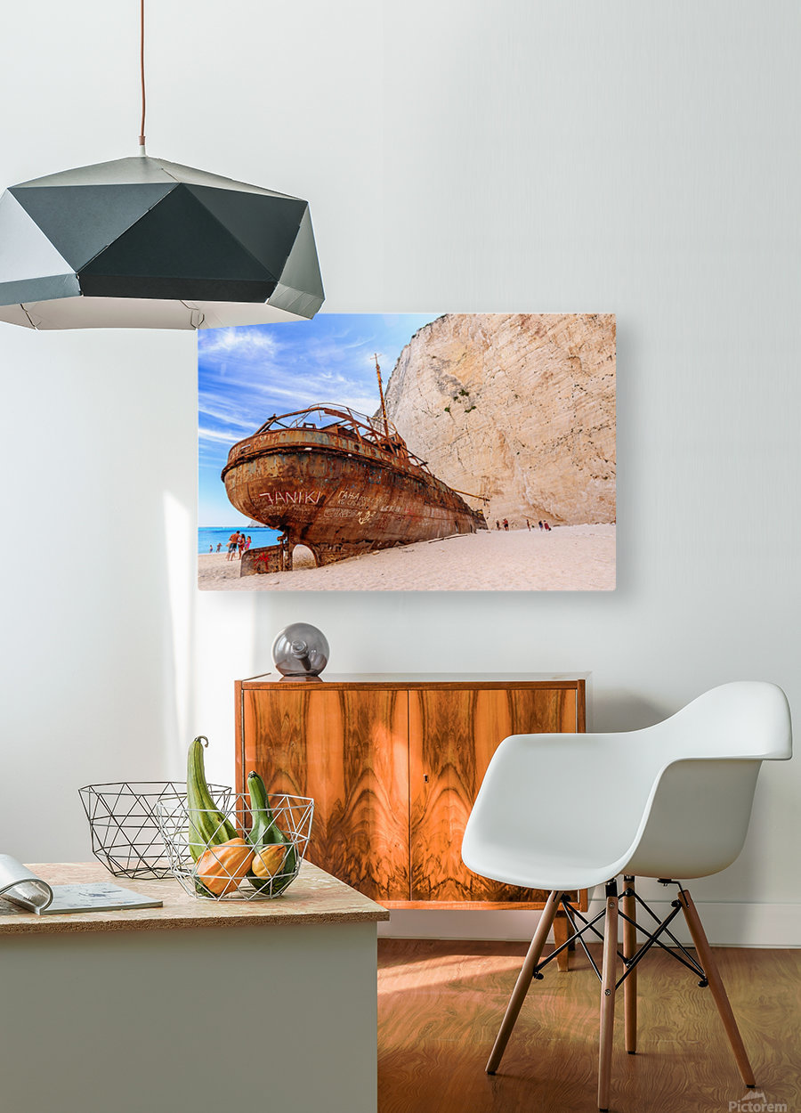 _TEL3227  HD Metal print with Floating Frame on Back