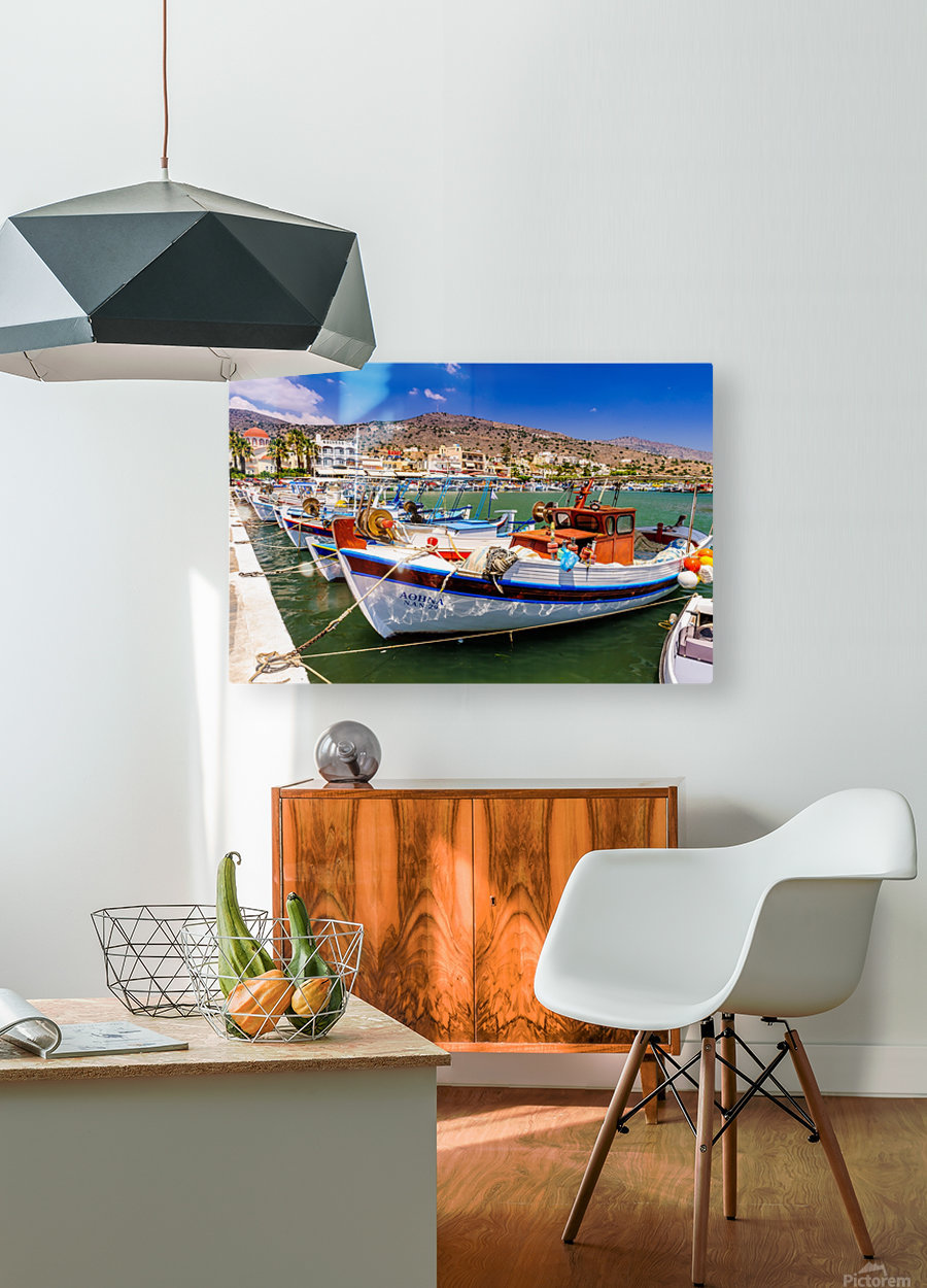 _TEL3860  HD Metal print with Floating Frame on Back