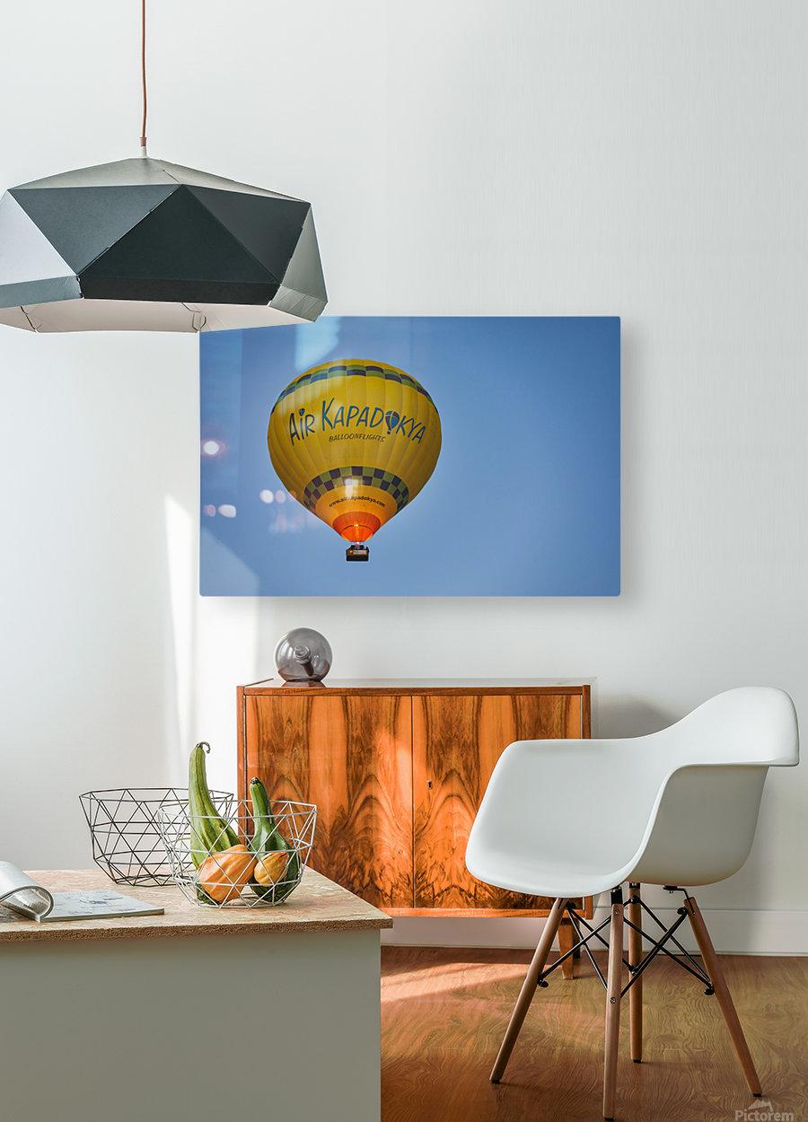 Travel Turkey Cappadocia 2019 8  HD Metal print with Floating Frame on Back
