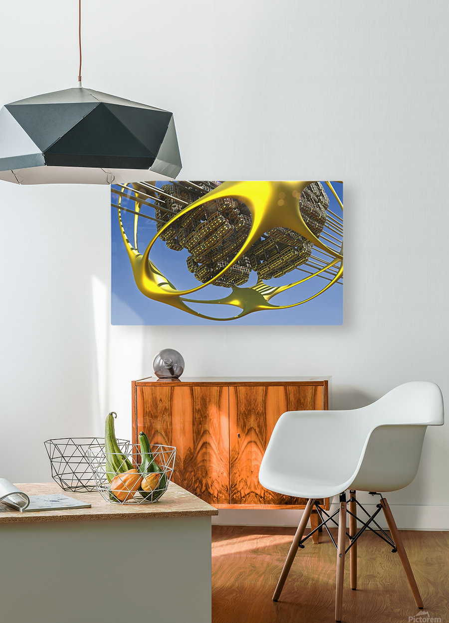 Vogazim by Jean-Francois Dupuis   HD Metal print with Floating Frame on Back