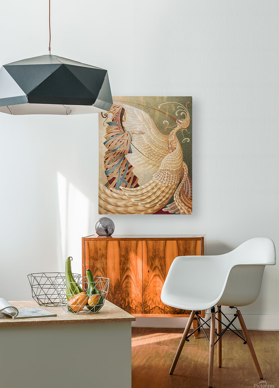PHOENIX  HD Metal print with Floating Frame on Back