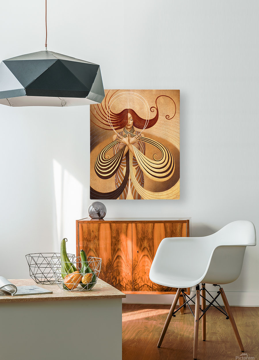 UNIVERSUM  HD Metal print with Floating Frame on Back
