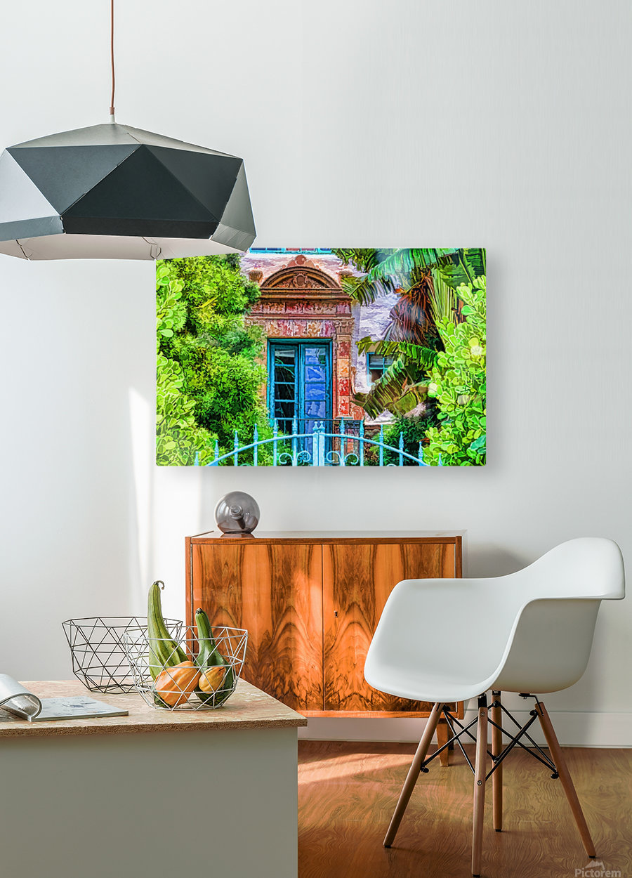 Beyond The Gate   HD Metal print with Floating Frame on Back