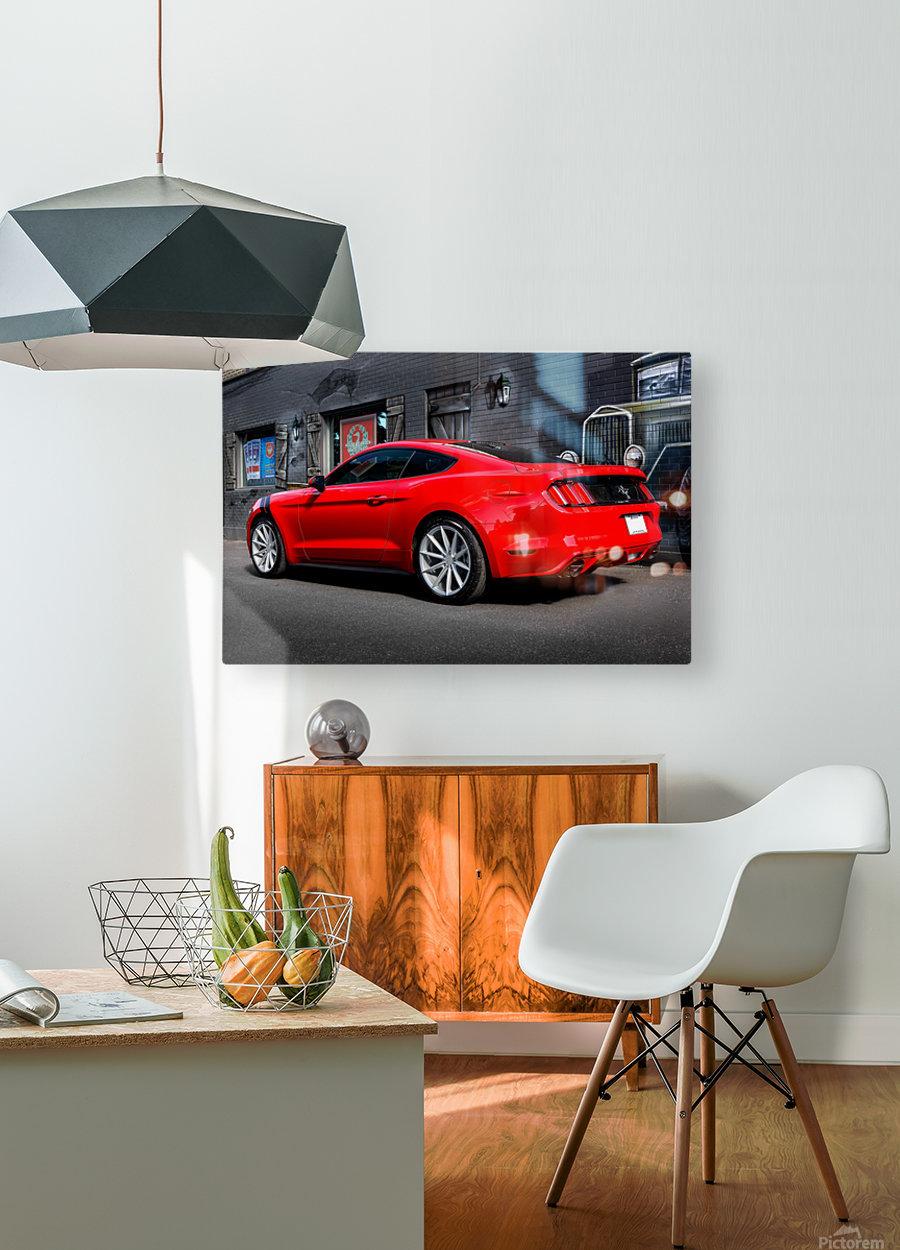 _TEL4935 Edit Edit  HD Metal print with Floating Frame on Back