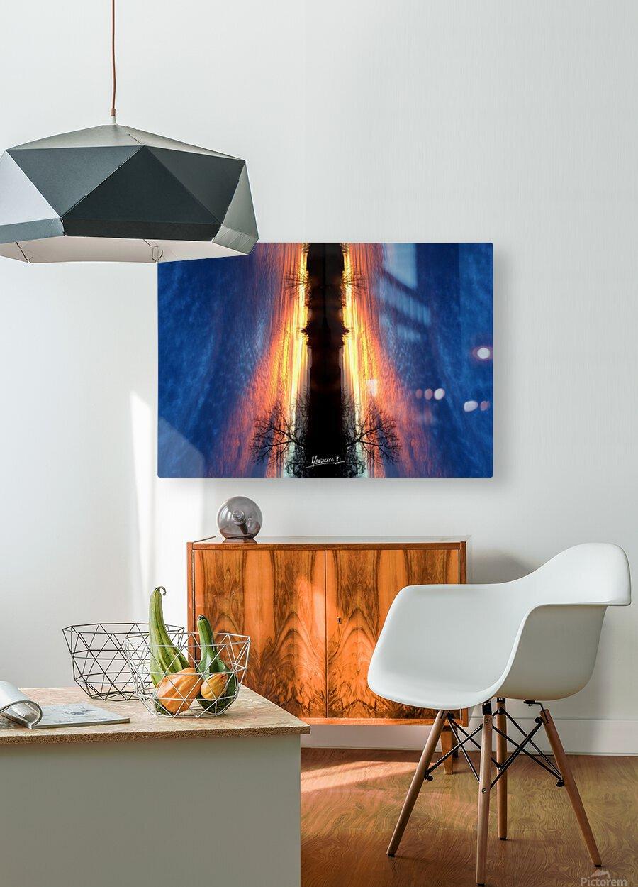 lanscape 11  HD Metal print with Floating Frame on Back