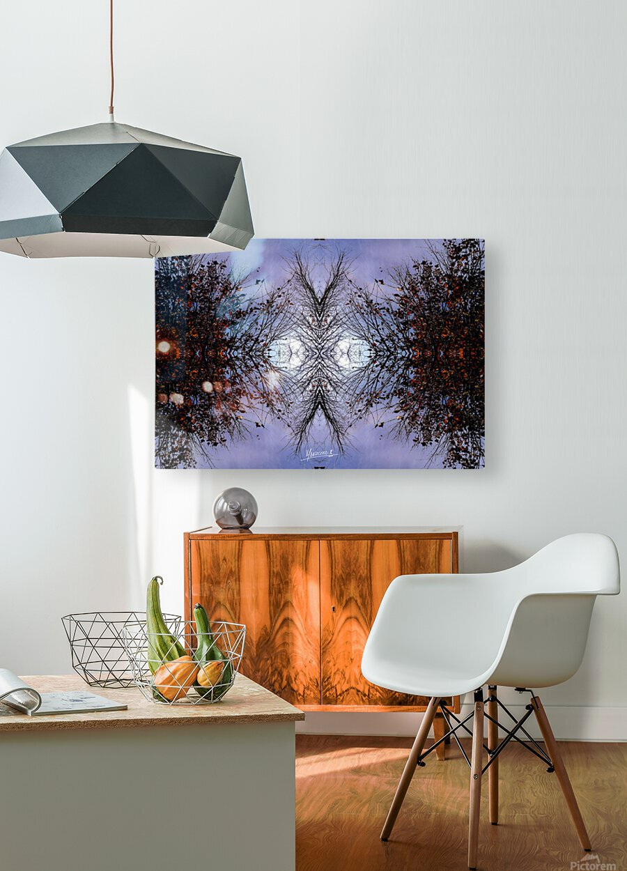 nube 57  HD Metal print with Floating Frame on Back