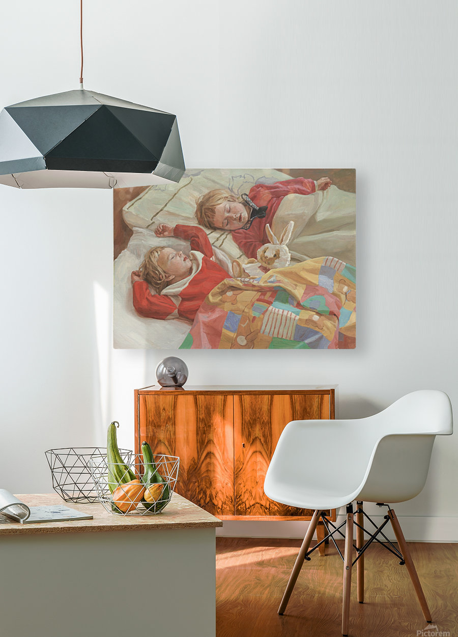 Golden_Slumbers  HD Metal print with Floating Frame on Back