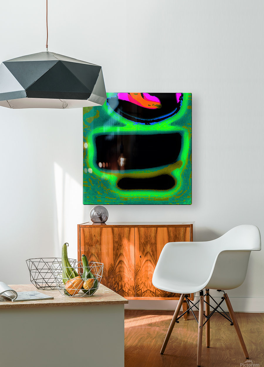 The Chawan II 375  HD Metal print with Floating Frame on Back