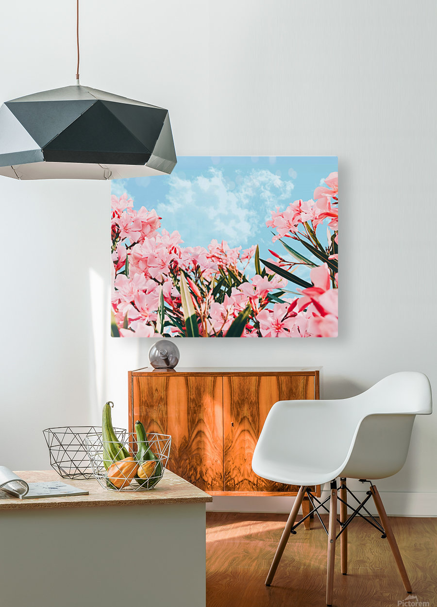 Blush Blossom II  HD Metal print with Floating Frame on Back