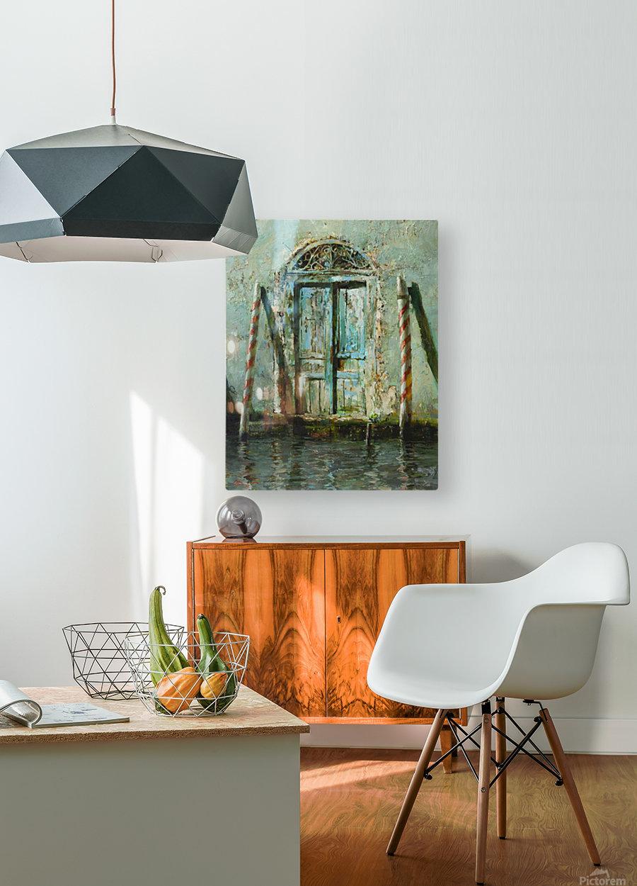 Venetian_Door  HD Metal print with Floating Frame on Back