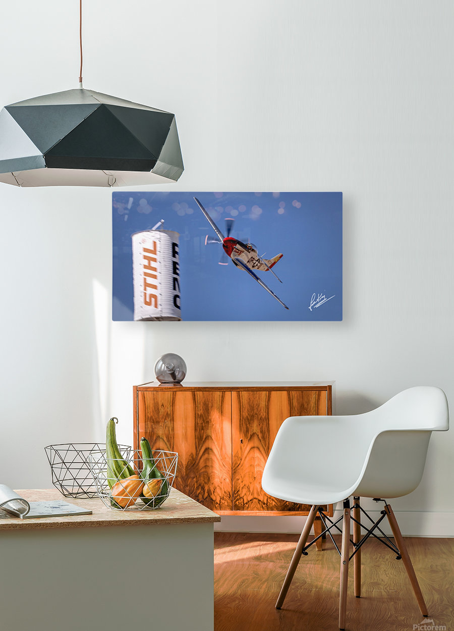 John King 24  HD Metal print with Floating Frame on Back