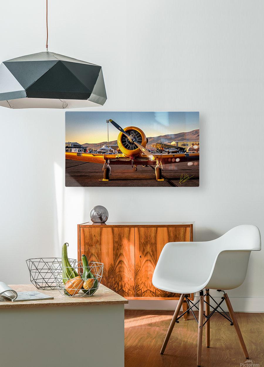 John King 11  HD Metal print with Floating Frame on Back