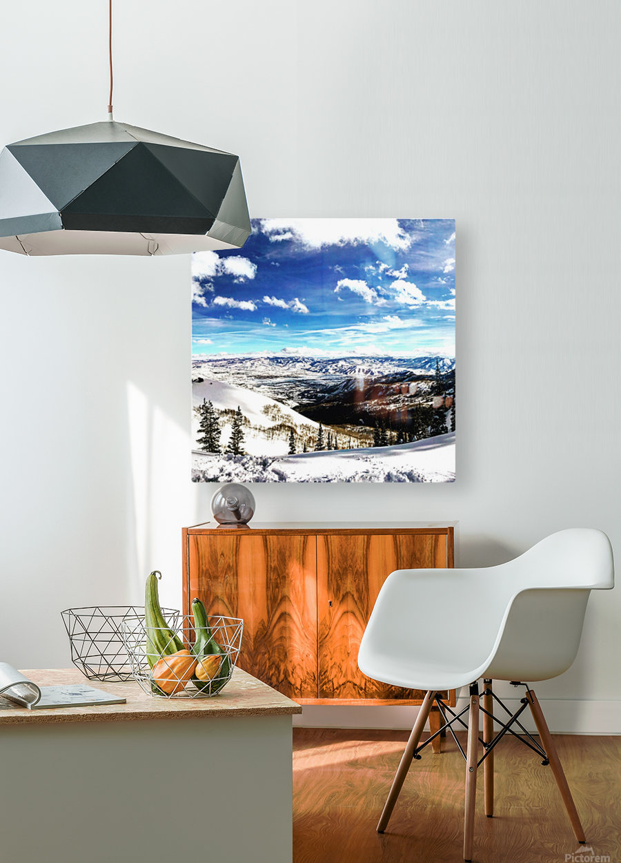 Brighton Resort Back Country  HD Metal print with Floating Frame on Back