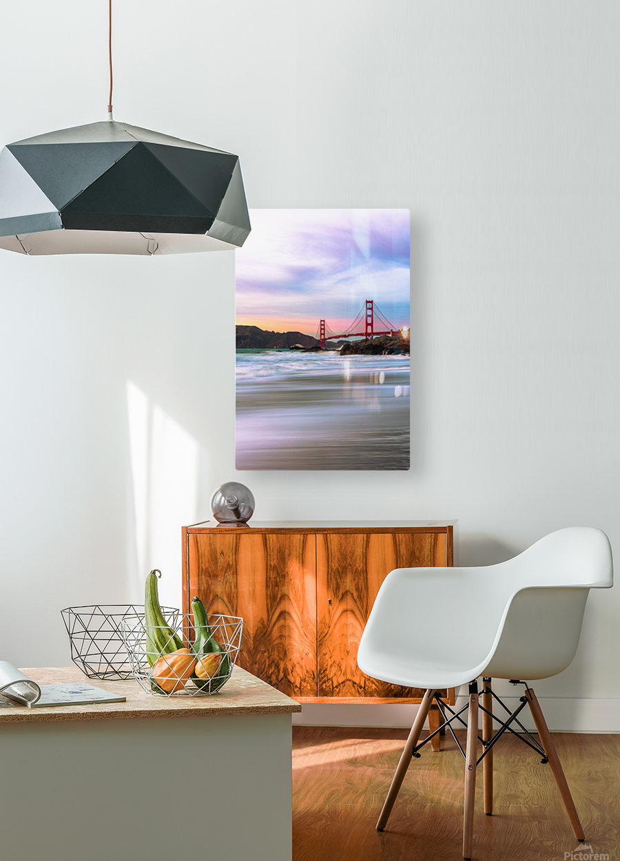 Symphony of Light  HD Metal print with Floating Frame on Back