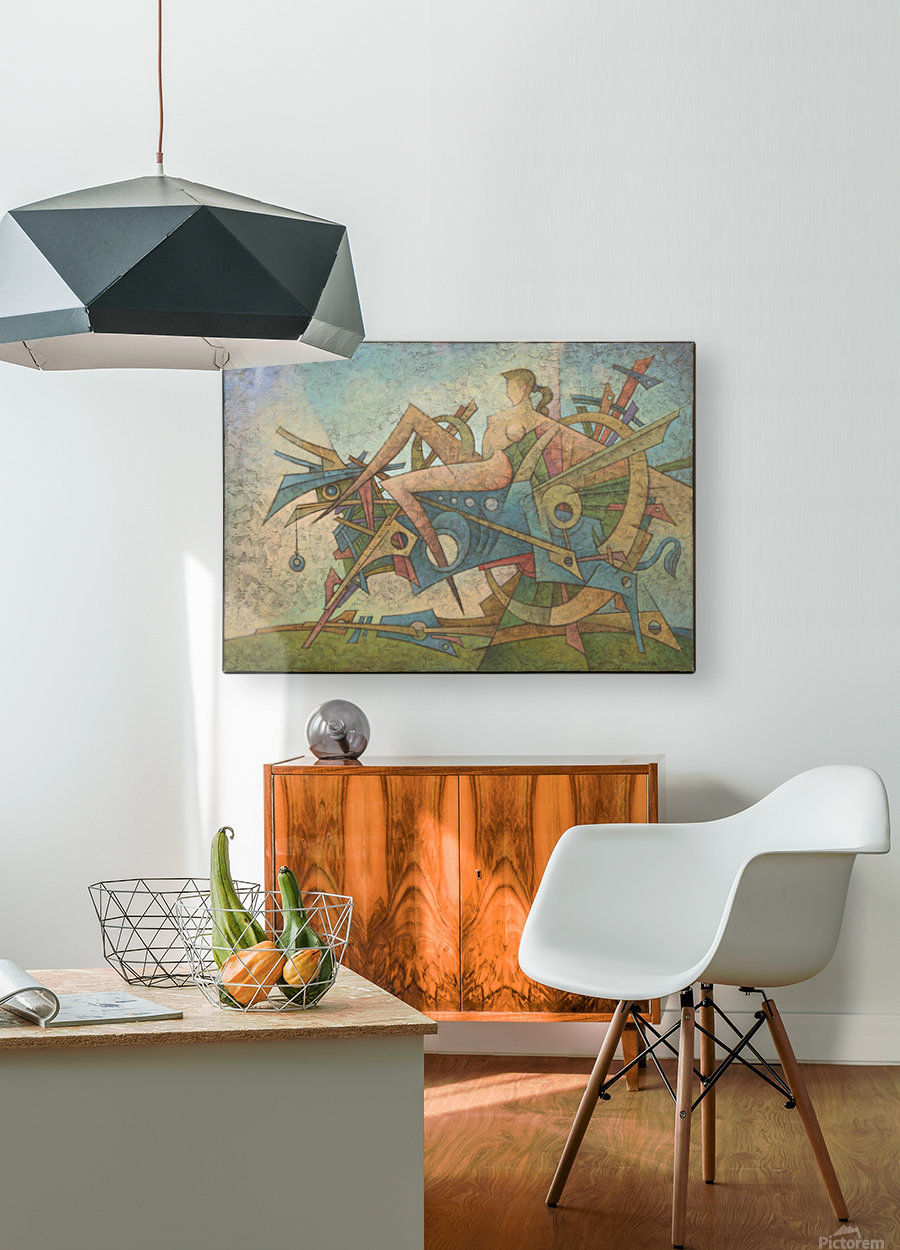 Abduction  HD Metal print with Floating Frame on Back