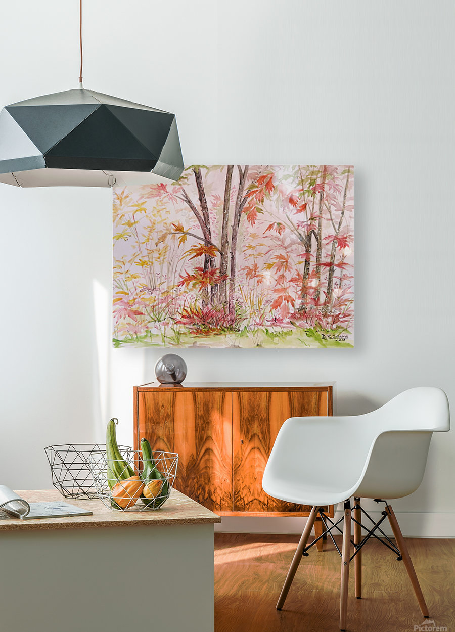 Autumn_DKS  HD Metal print with Floating Frame on Back