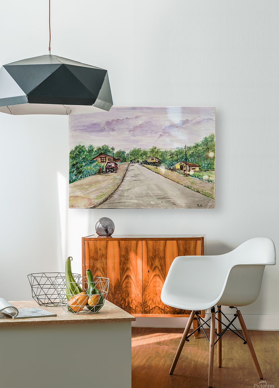 Way to Goa_DKS  HD Metal print with Floating Frame on Back