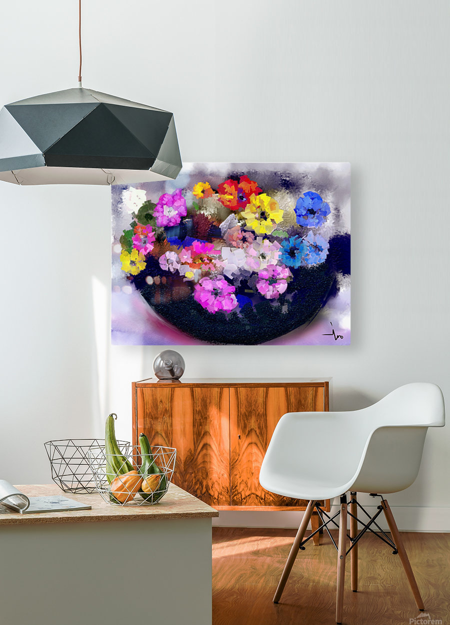 0014  HD Metal print with Floating Frame on Back