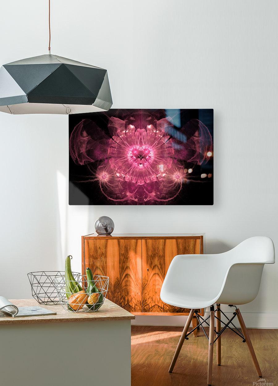 Anaya  HD Metal print with Floating Frame on Back