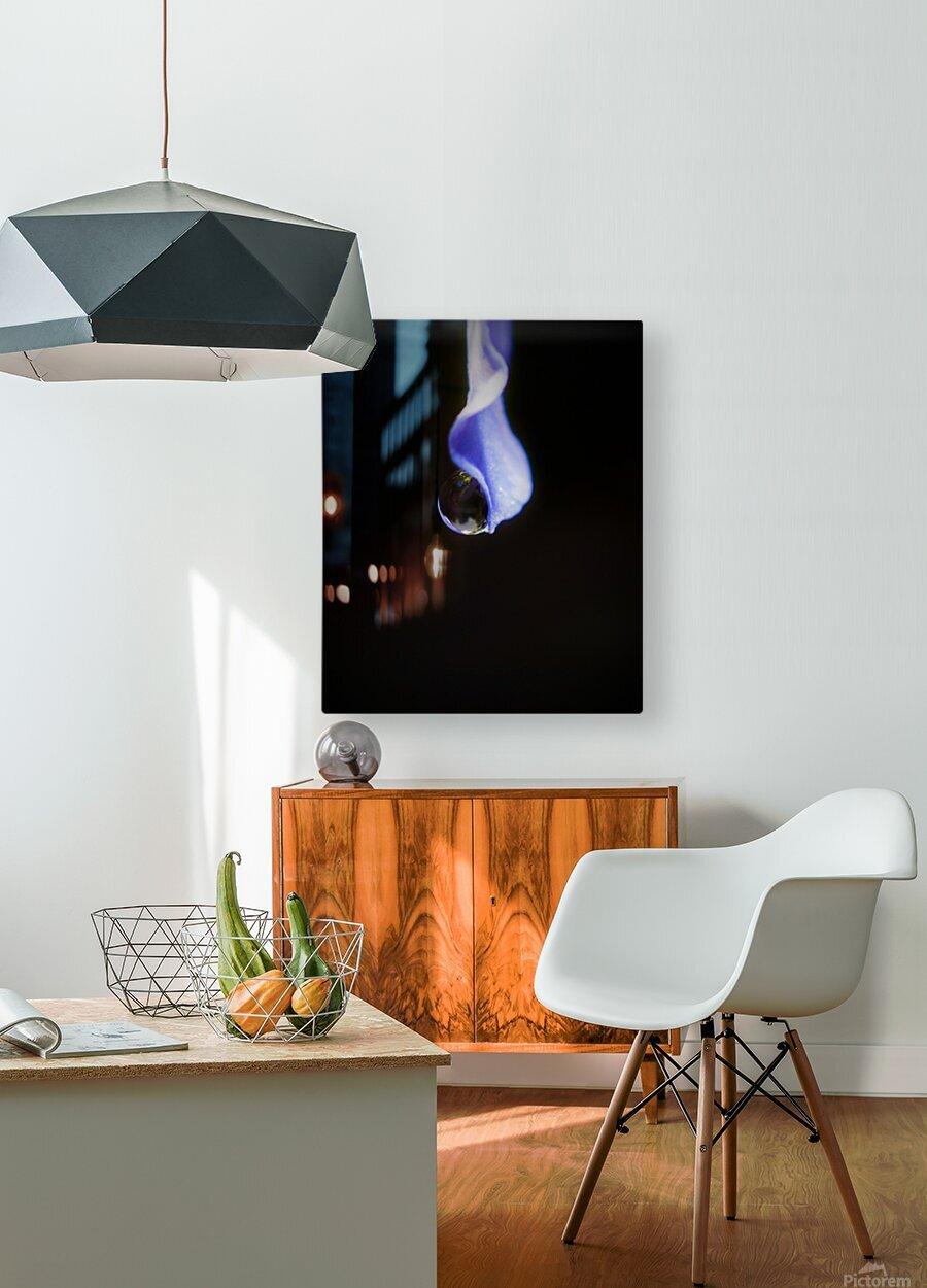 Pendule  Impression métal HD avec cadre flottant sur le dos